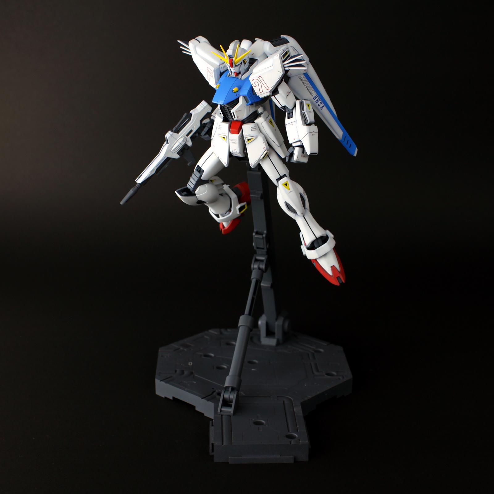 F91「ガンダムF91」1/100 マスターグレード #1